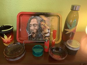 Bob Marley inspired rolling tray for Sale in Charlotte, NC