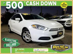 2016 Dodge Dart for Sale in Fresno , CA