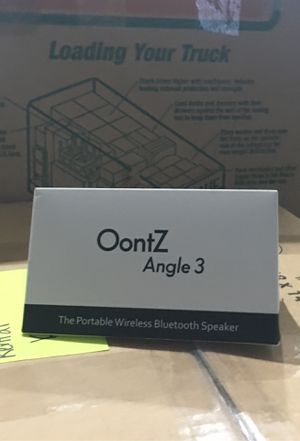 New oontz angle 3 Bluetooth speaker for Sale in McKinney, TX