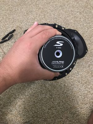 Alpine type S speakers for Sale in Staunton, VA