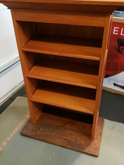 Custom Made Solid Cherry Bookshelves for Sale in Gig Harbor,  WA