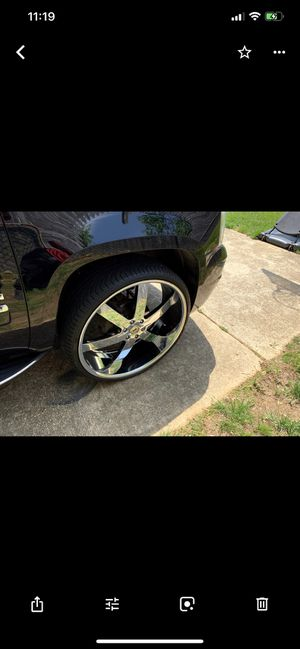 28 inch CADDY, GMC, CHEVY RIMS SUV/TRUCK RIMS for Sale in Washington, DC