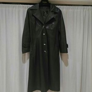 1970s 24K Leather by Dan di Modes Trench coat for Sale in Dallas, TX