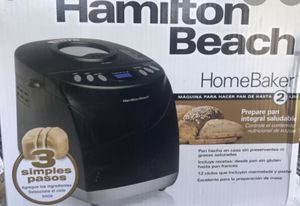 Hamilton Beach 2 lb bread maker for Sale in Norfolk, VA