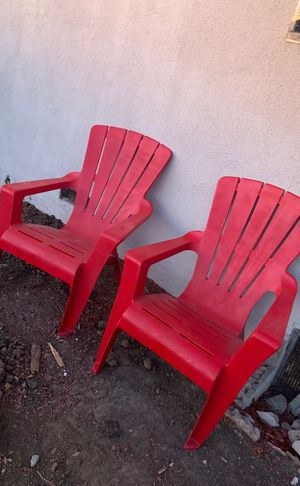 Free patio chairs for Sale in Rancho Dominguez, CA