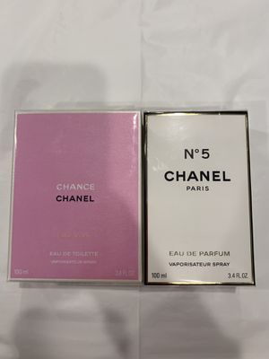 Parfum Chanel 3.4oz &3.4oz for women for Sale in Kent, WA
