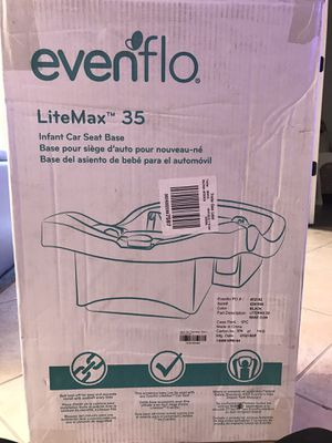 Evenflo litemax 35 car seat base only for Sale in Bonita Springs, FL
