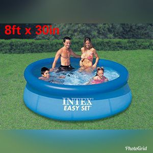 Alberca Intex 8ft x 30in New Family Easy set Pool ( Hablamos Español ) for Sale in Los Angeles, CA