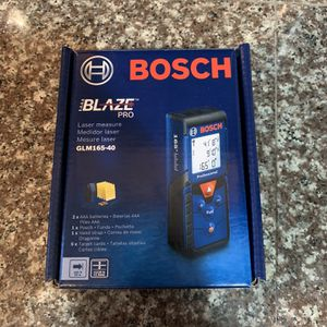 New Bosch Blaze Pro Glm165-40 for Sale in Beavercreek, OR