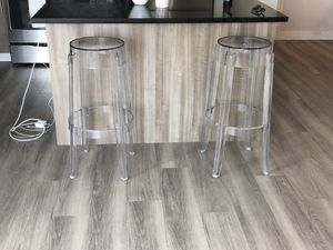 Ghost Clear Bar Stools for Sale in New York, NY