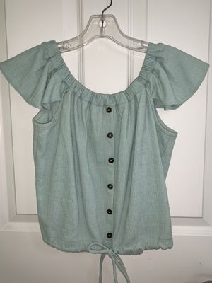 Madewell Button Blouse for Sale in Seattle, WA