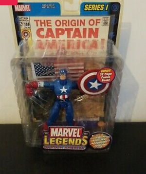 2002 Mavel Legends Captain America Figure for Sale in Baltimore, MD