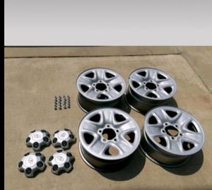 "Toyota tundra 18"" stock rim's for Sale in Bakersfield, CA"