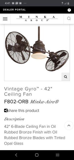 Gyro Fan by MINCA for Sale in Montrose, CO