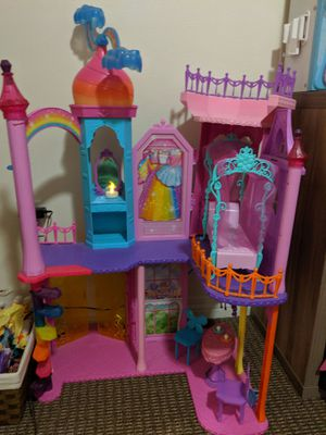 Barbie Dreamtopia Rainbow Cove castle for Sale in Poway, CA