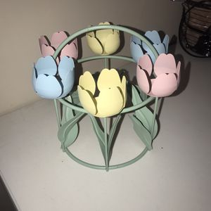 Floral Votive candle Holder for Sale in Christiana, TN