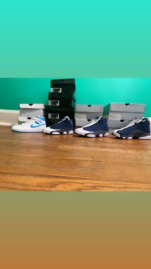 Jordan 1 Unc, Jordan 13 Flint for Sale in Baltimore, MD