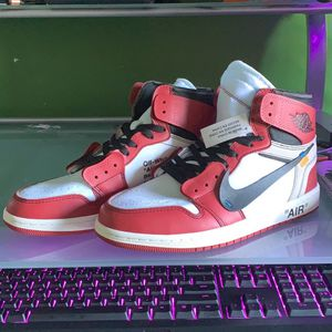 Jordan 1 Off White Chicago's size 11 for Sale in Naperville, IL
