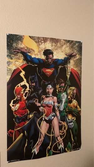 DC poster for Sale in Tulsa, OK