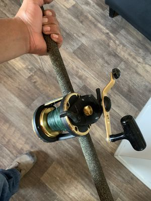 Daiwa grandwave x fishing reel for Sale in Tustin, CA