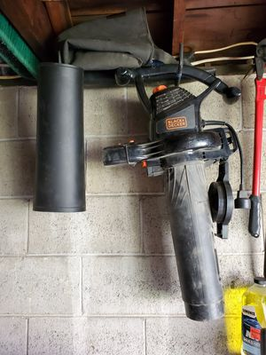 Black and decker leaf blower for Sale in N BELLE VRN, PA
