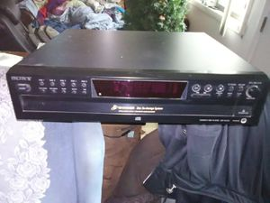 Sony 5 discs CD player $40 for Sale in Washington, DC