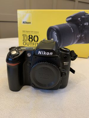 Nikon D80 with Tamron Zoom lens for Sale in Woodinville, WA
