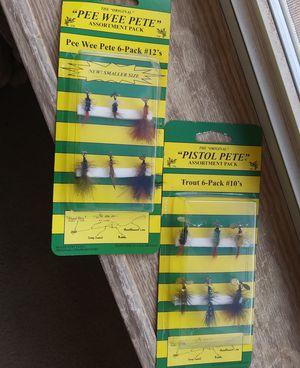 """~""""ORIGINAL"""" Pistol Pete & Pee Wee Pete Fishing Flies for Sale in Snowflake, AZ"""