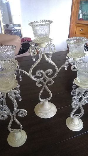 Chandeliers candle holders for Sale in Worcester, MA