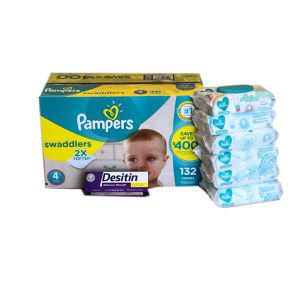 Pampers Swaddlers Size 4 for Sale in Miami, FL