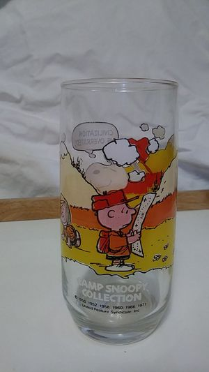 Camp Snoopy Collection Drinking Glass 1950 for Sale in St. Louis, MO