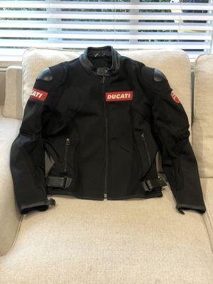 Ducati Dainese motorcycle jacket stretch fabric size L for Sale in Burbank, CA