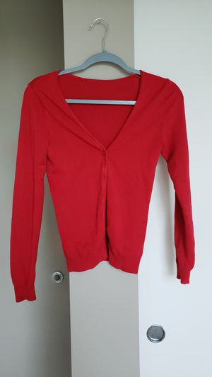 Red Cardigan Bottoms Size XS / XXS Women for Sale in Bellevue, WA