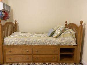 Bunk Bed With Storage - Twin over Full/twin for Sale in LAKE CLARKE, FL