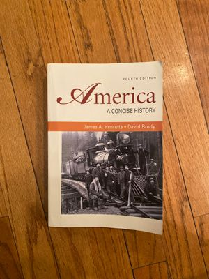 America a Concise History Fourth Edition for Sale in Chicago, IL