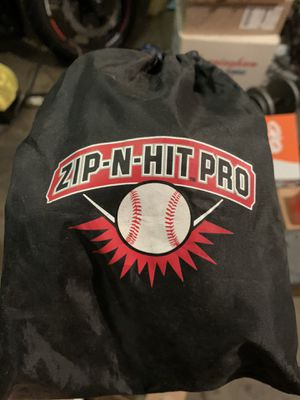 Good condition Zip N Hit Pro Baseball Batting Practice for Sale in San Francisco, CA