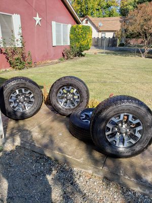 2018 toyota rims and tires for Sale in Orland, CA