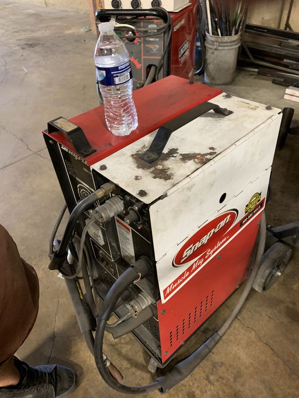 Snap on welder