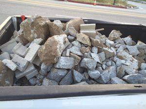 Free concrete pieces for Sale in Los Angeles, CA