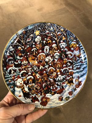 Bill Bell collector plates for Sale in Wayland, MA
