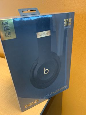 Beats studio 3 Wireless - Midnight Black for Sale in Falls Church, VA
