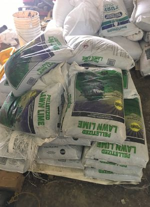 Large bags of lime for Sale in Lexington, NC