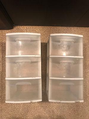 6 Drawer Plastic Storage Shelves for Sale in Park Ridge, IL