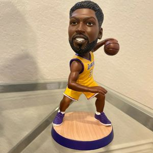 Lakers 2020 Championship Lakers Anthony Davis New Action Figure Bobblehead For NBA New Season Lakers Jersey Sports And Outdoor for Sale in Orange, CA