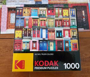 Kodak Colorful Montreal Doors puzzle for Sale in Deerfield Beach, FL