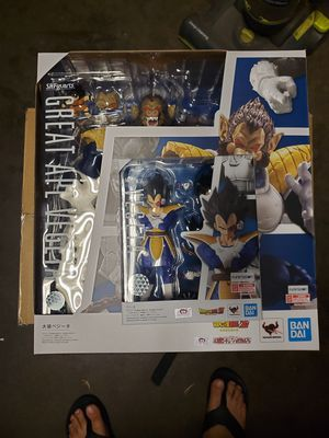 Sh Figuarts Dragonball Z Vegeta and Great Ape Vegeta for Sale in Paramount, CA
