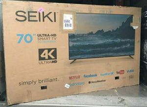 "70"" Seiki led 4k uhd smart for Sale in Ontario, CA"