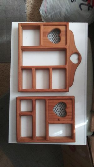 Two Wall hanging nic nac shelves for Sale in Sanford, FL