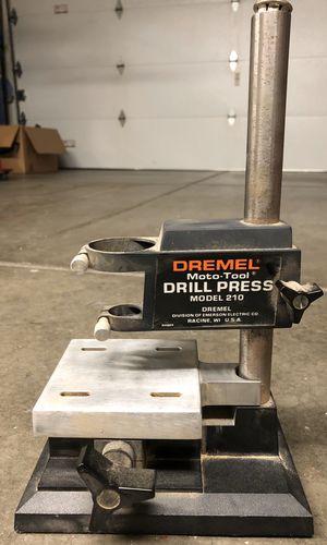 Dremel Moto tool drill press stand model 210 for Sale in Phoenix, AZ