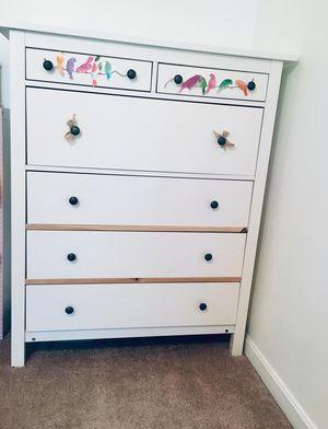 Ikea 6 drawer chest - white color for Sale in Fairfax, VA